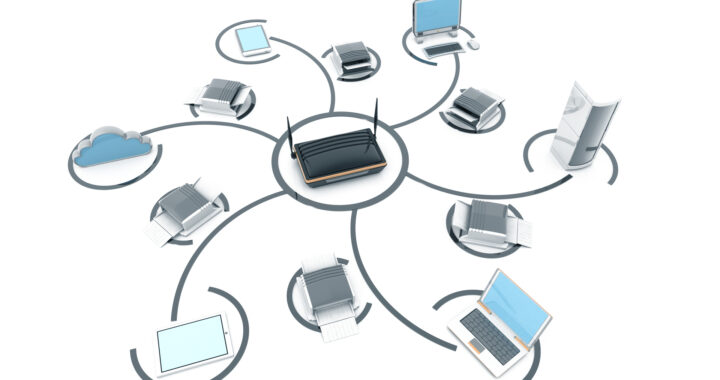 Computers connected to a network